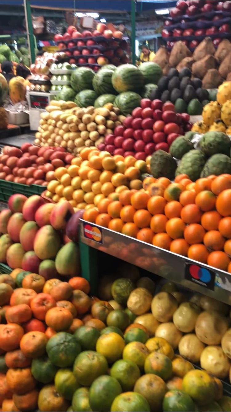 Fruit Stand at Mercado de Paloquemao