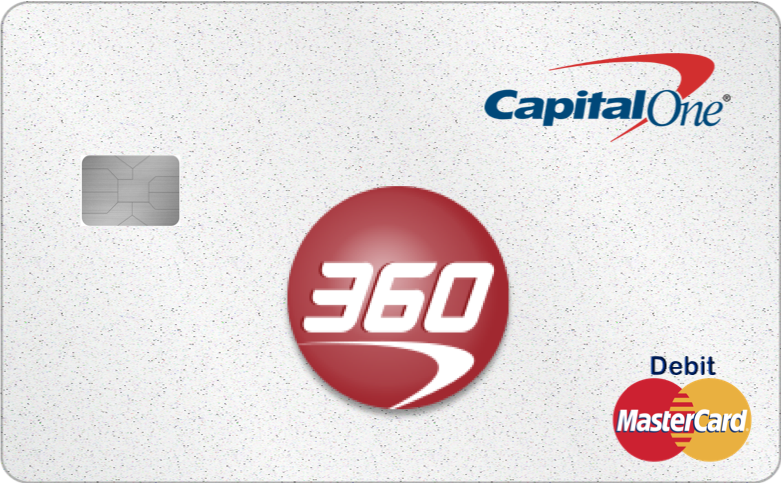 The Capital One 360 Checking Mastercard Debit Card