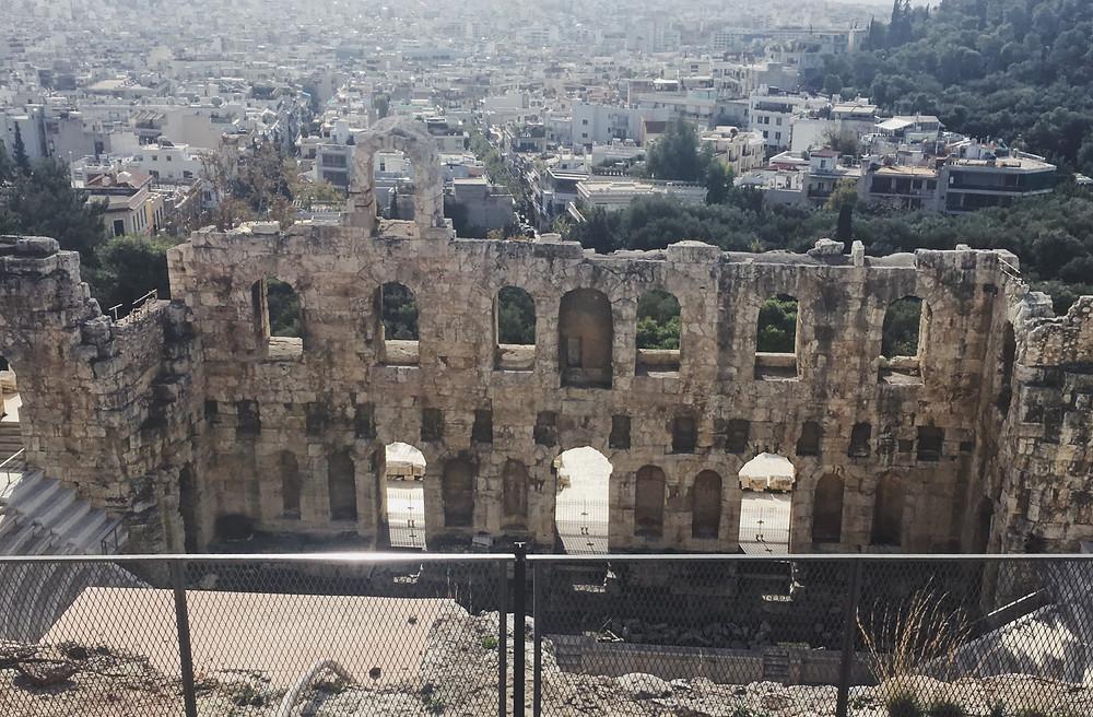 The theatre of Dionysus