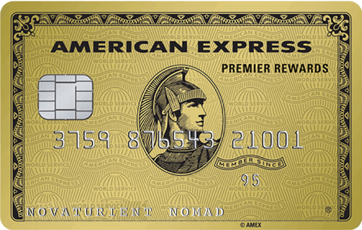 The American Express Premier Rewards Gold Card