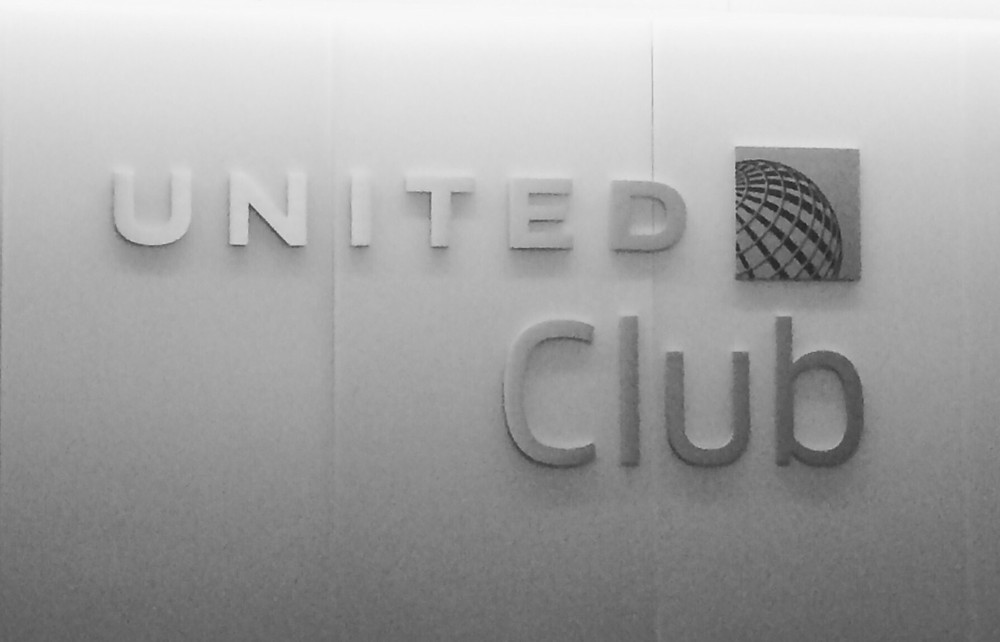 United Club Lounge IAH Airport, Houston TX