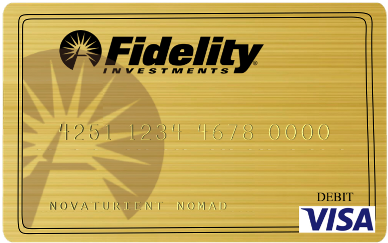 Fidelity Visa Gold Check Card