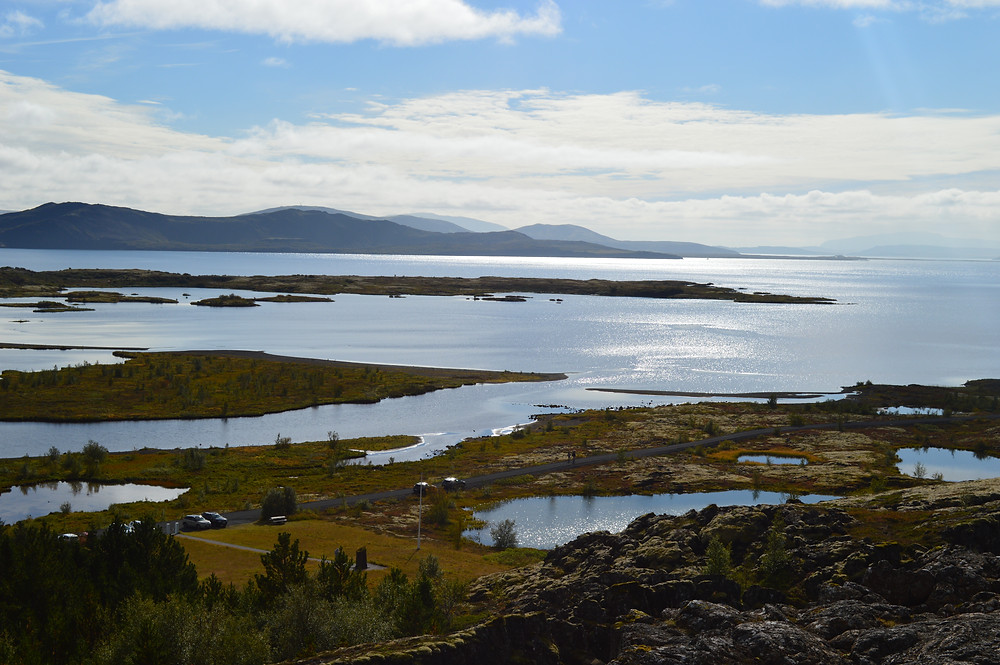 View from Observation Deck at Thingvellir National Park