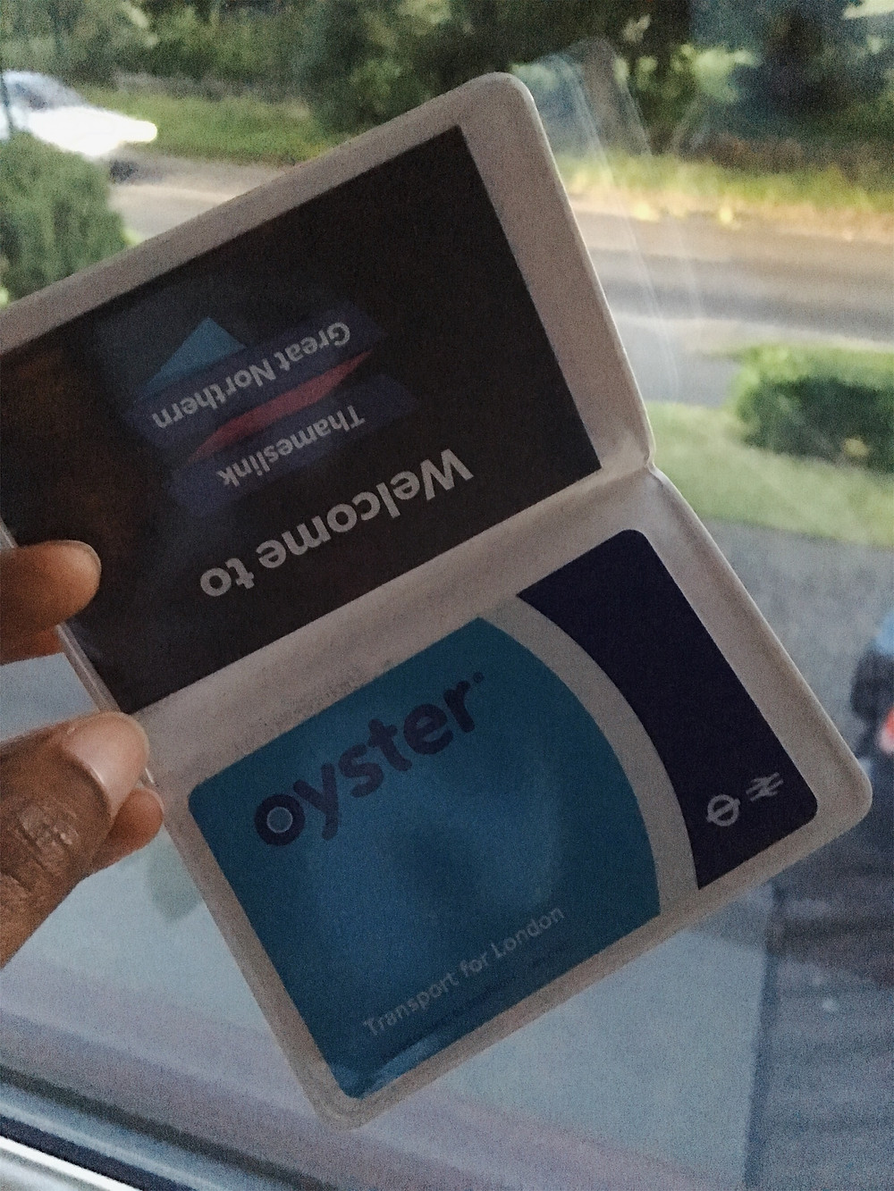 Rail Card and Oyster Card