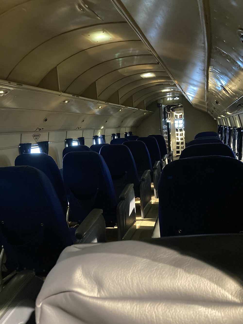 Inside American Airlines DC-3