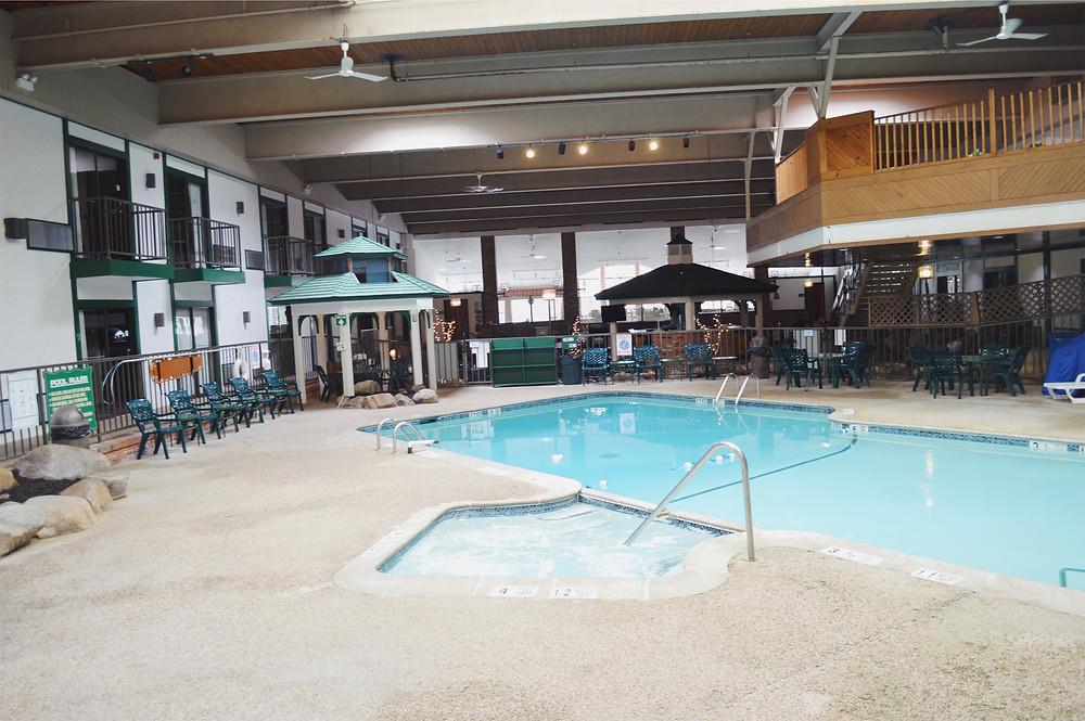 The Quality Inn indoor pool, Lake Placid