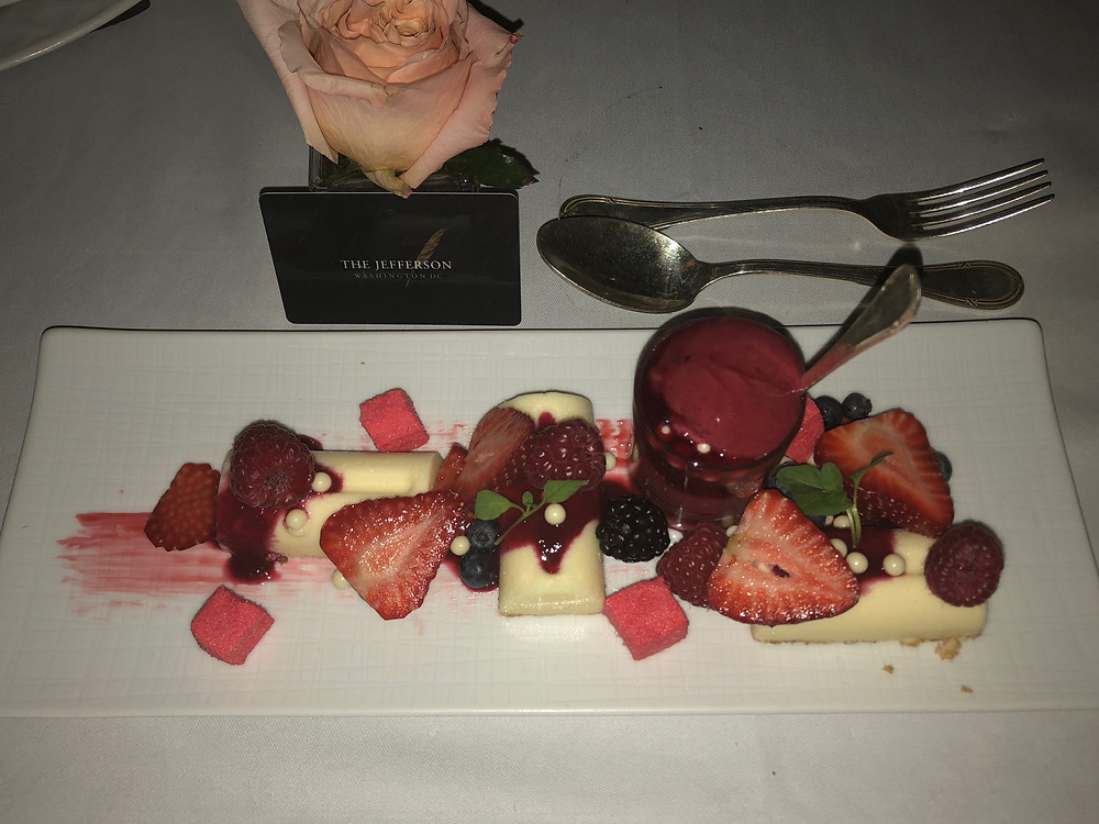 Desert at the Jefferson
