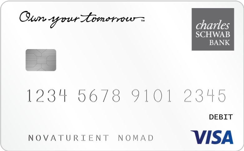 The Schwab Bank Visa Platinum debit card
