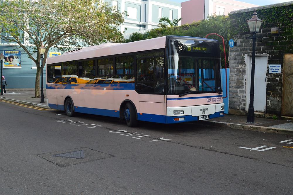 The Bermuda Breeze Bus