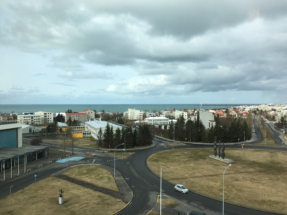 View of Reykjavik from the Radisson Saga Hotel