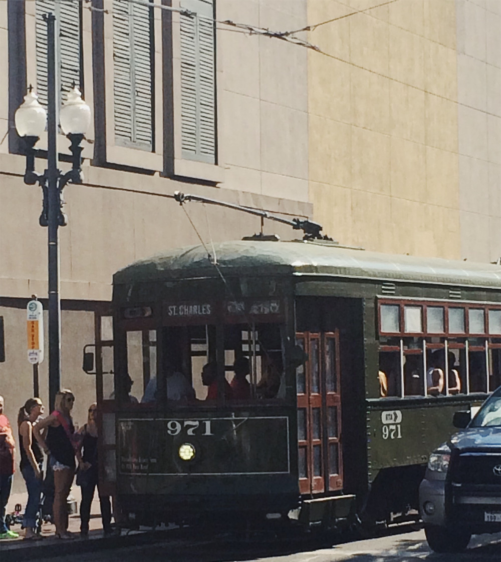 The St Charles cable car