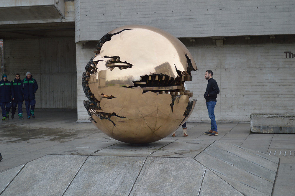 Sphere within a Sphere, Trinity College Campus