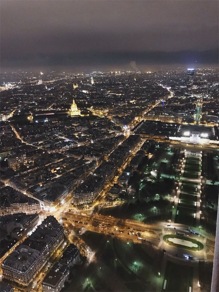 Champ De Mars at Night