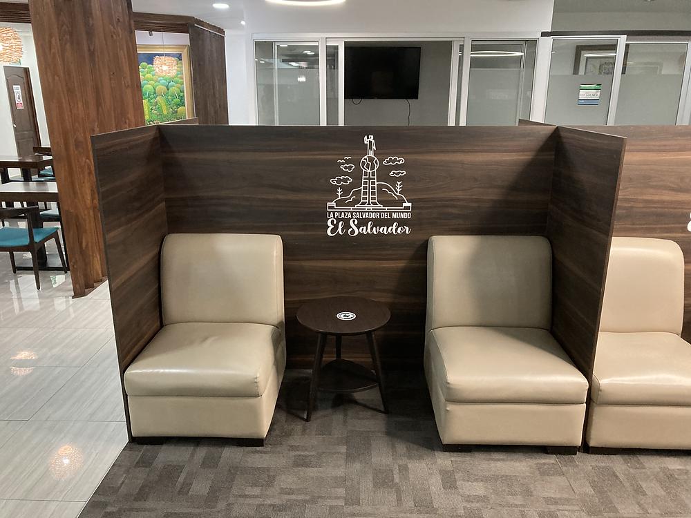 Aeroconnections Lounge Seating Area