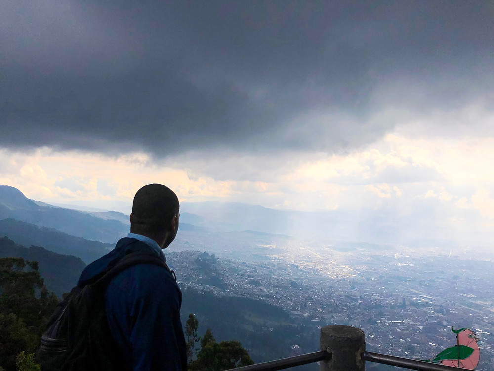 View from Monserrate.