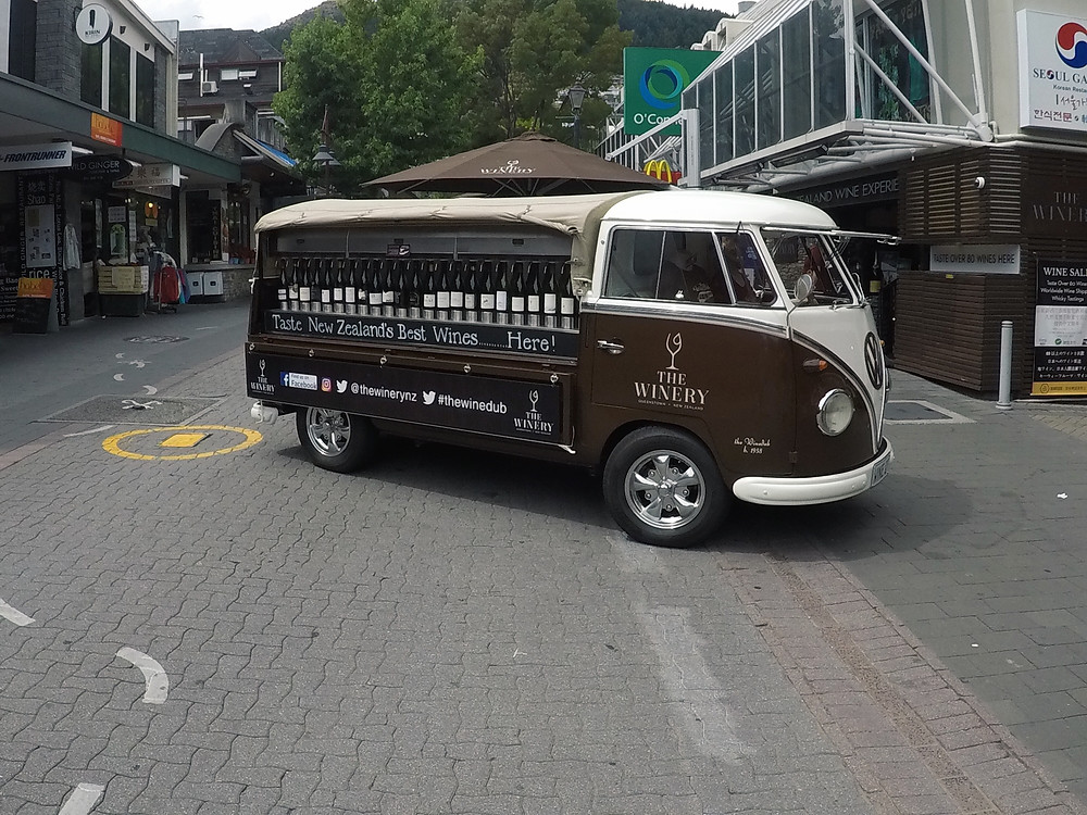 The Winery NZ mobile van