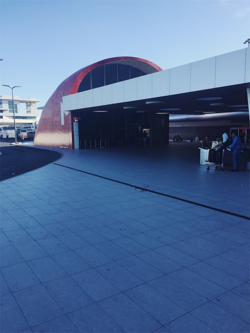 Metro Entrance Portela Airport