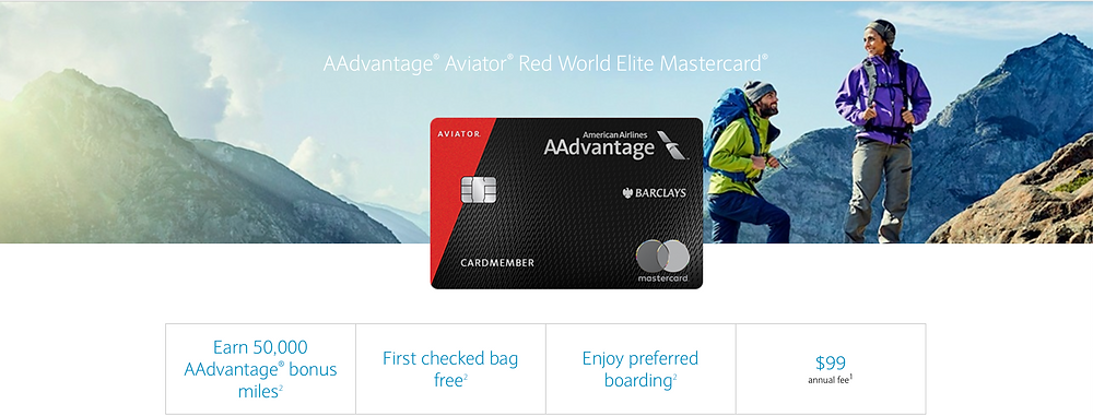 Aviator Red World Elite Mastercard