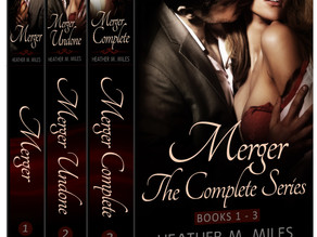 Cover Reveal! Merger Series (Book 1-3) Box Set