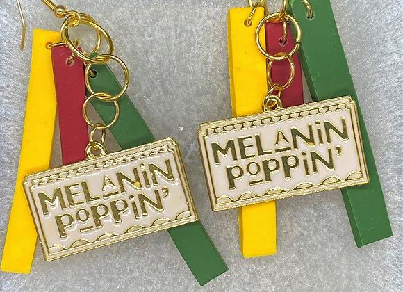 Melanin Poppin Earrings