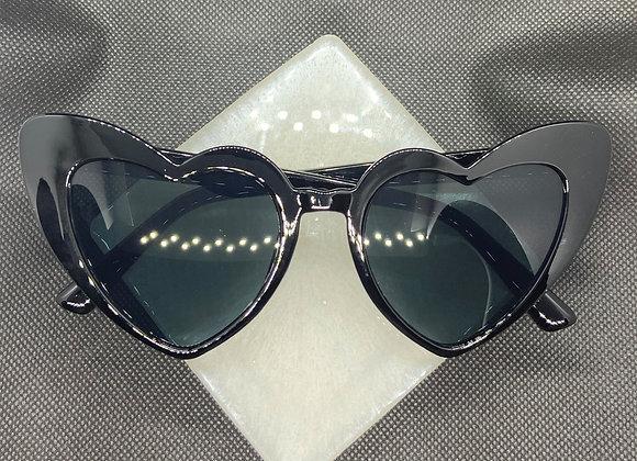 Cat Eye Heart Sunglasses