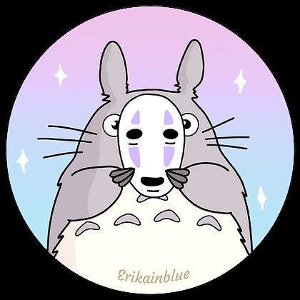 Pegatina Totoro