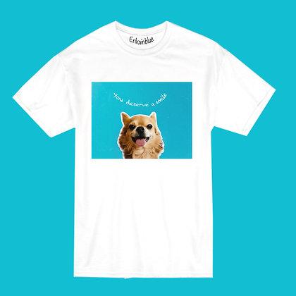 Camiseta you deserve a smile