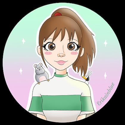 Pegatina Chihiro