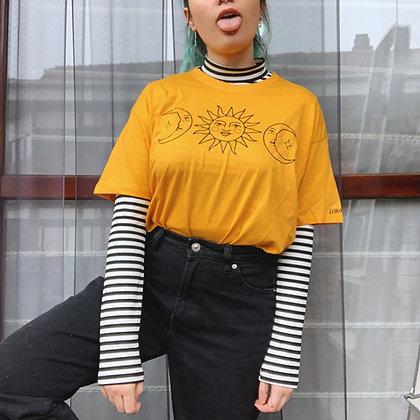 Camiseta sun & moon