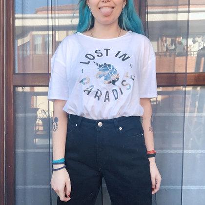Camiseta Lost glitter