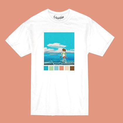 Camiseta Chihiro pastel