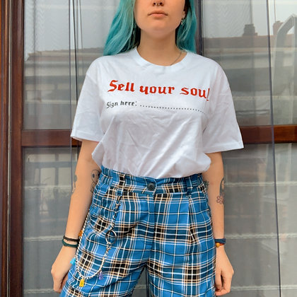 Camiseta sell ur soul