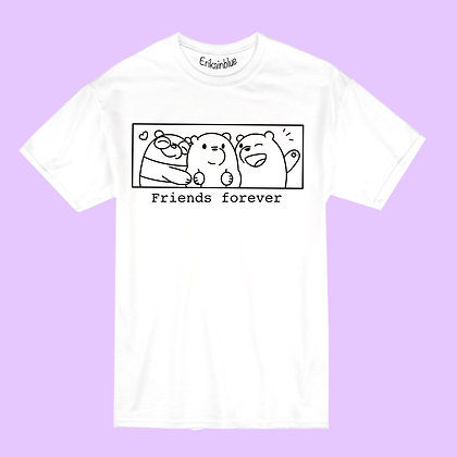 Camiseta friends forever