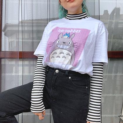 Camiseta happy totoro
