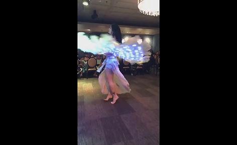 LED belly dance