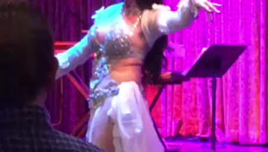 sneak peek of my show at Sufi Restaurant
