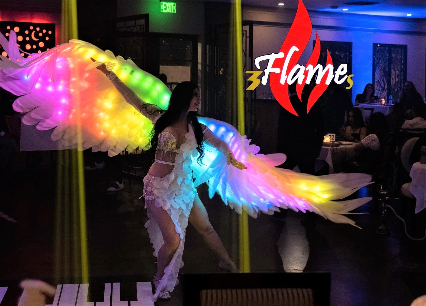LED Angel Wings