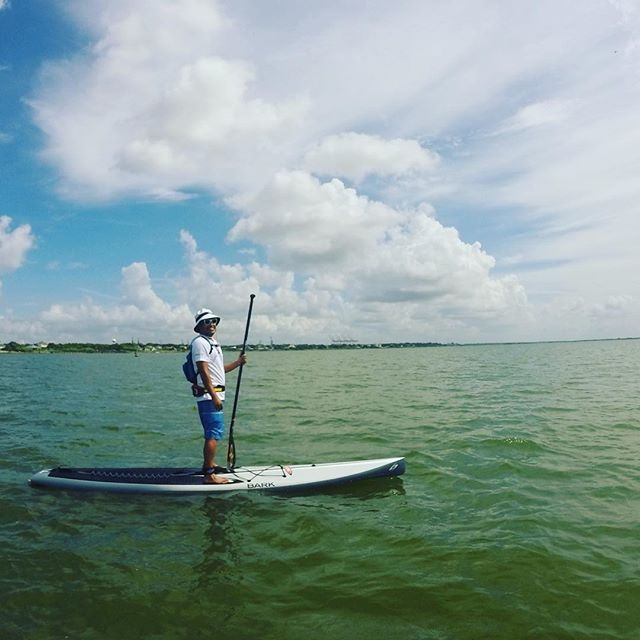 Chillin _paddleteam8 #suphtx #sup #houston #standuppaddleboard #paddleboard
