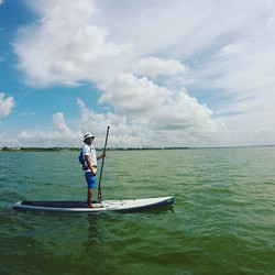 Chillin _paddleteam8 #suphtx #sup #houston #standuppaddleboard #paddleboard