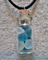 Seaglass Bottle