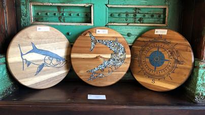 Tarpon, Wahoo, and Compass Boards