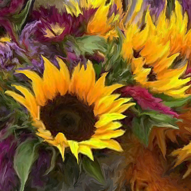 Garen Sunflowers