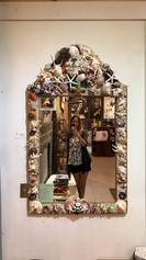 Shell Vintage Mirror