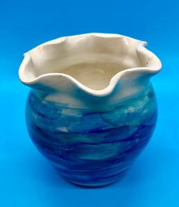 Small Aqua Vase