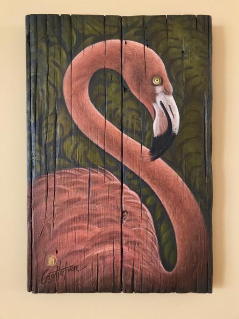 Fiery Flamingo