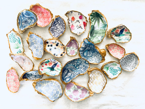 Oyster Shell Ring Catchers