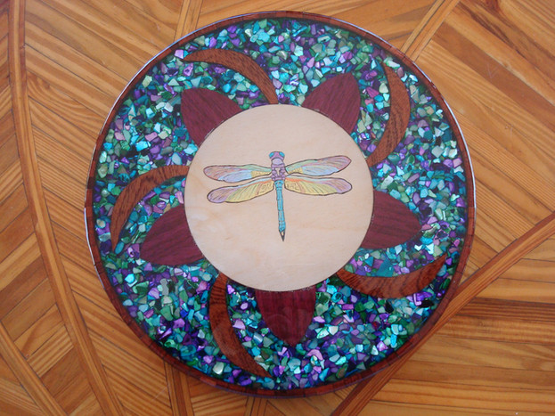 Dragonfly Lazy Susan