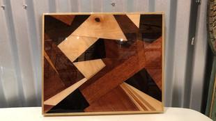 Charcuterie Board - Mixed African Hardwood