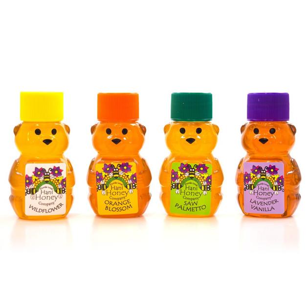 2 oz honey bear