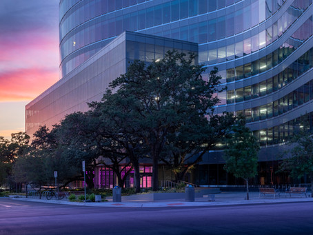 sxsw center featured in texas architect